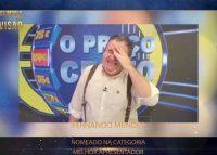 Fernando Mendes reage com humor a nomeação nos Troféus Impala de Televisão